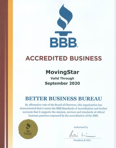 Moving-Star-Moving-BBB-certificate